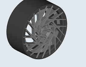 Z forged wheel for miniatures cars models