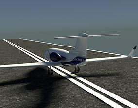 LearJet 25 AtlasJet 3D model