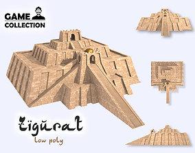 Zigurat 3D asset