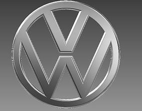 VW symbol 3D