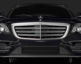 Mercedes Benz S 560 Lang AMG Line V222 2018 3D