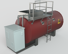 3D Storage Tank