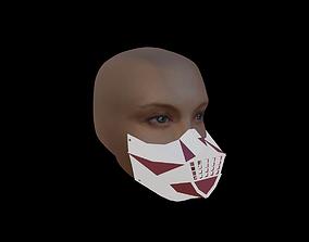 3D Printable FaceMask 3D asset