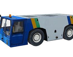 3D asset Lowpoly Pushback TLD TMX 400
