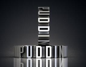 PUDDIN Suicide Squad Harley Quinn ring 3d model for 3d 1