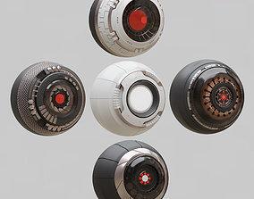 Eyes for the robot 3D model