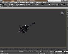 3D printable model hammer weapon
