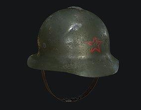 WW2 Russian Army Helmet Classic 3D asset