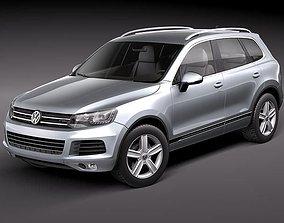 Volkswagen Touareg II 3D model