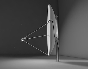 3D asset Radio Satellite Dish