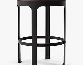 Holly Hunt Marteau Counterstool 3D