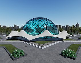 3D model Dome and Tent Structures