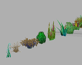 3D Game Model Arena - Grass 01