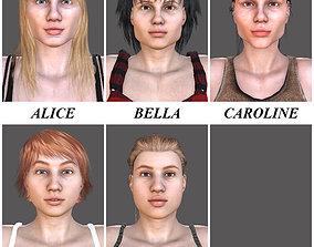 5 WOMENS 3D