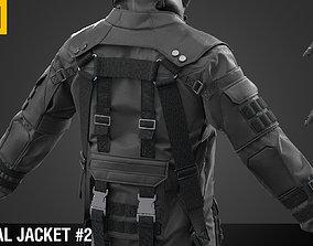 3D Tactical jacket Marvelous Designer