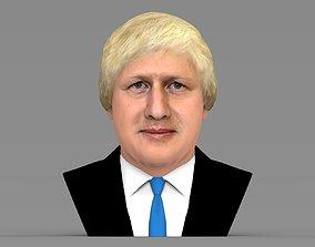 Boris Johnson bust ready for full color 3D