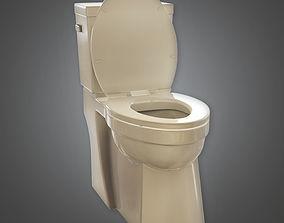 3D model Toilet 01a - ARV01 - Arch Viz - Game Ready