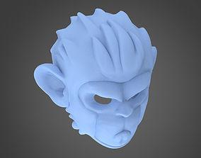 Pogo Mask in GTA V 3D printable model
