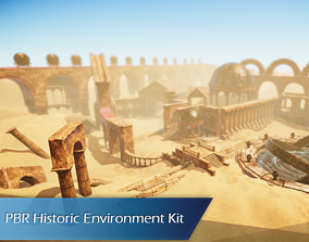 Historic Environment Kit - 45 Assets VR / AR ready