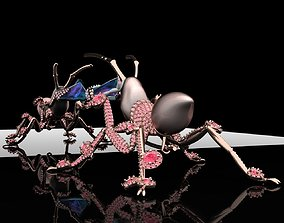 3dprintmodel Ant Brooches 3D print model
