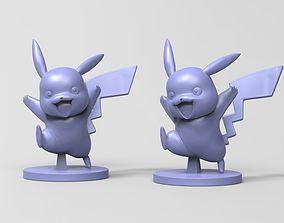 Pika Pika Fanart 3D print model