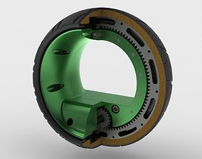 Hubless Wheel MK-I Concept 3D model