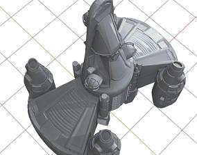 3D print model Gunstar Toy from The Last Starfighter