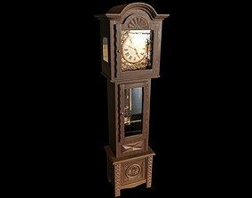 3D Grandfather Clock interior