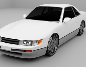 3D model Nissan Silvia s13
