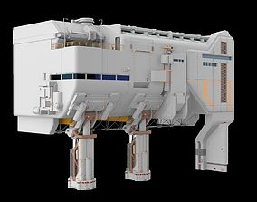 sci-fi architecture 6 3D