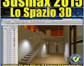 3ds max 2015 Lo Spazio 3D volume 16 Italiano cd