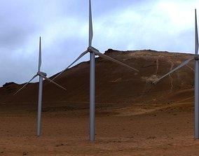 energy 3D Wind turbine