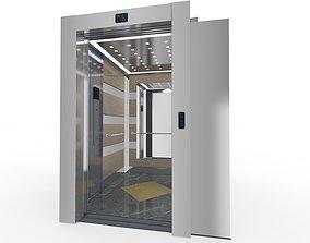 Adjustable Elevator Rigged 3D