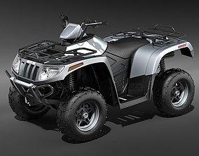 ATV QUAD Arctic Cat AC-700 3D model