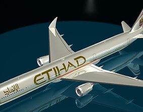 3D Etihad Boeing 777 - 9X