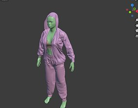 The cloth library a blender addon for cloth 3D model
