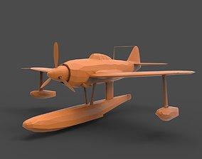 Kawanishi N1K 3D print model
