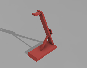 Headphone Stand 3D Model home