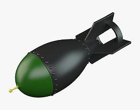 3D model Cartoon Bomb 01