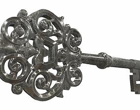 3D Ornamental key 3