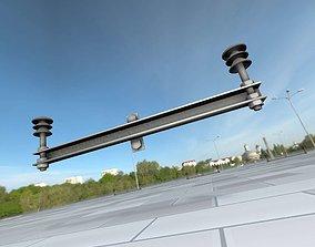 3D model Electricity Poles Insulators 9 - Object