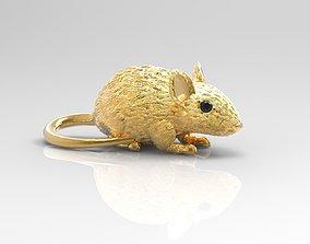 mouse-pendant mouse pendant 3D print model