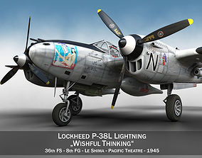 3D model Lockheed P-38 Lightning - Wishful Thinking