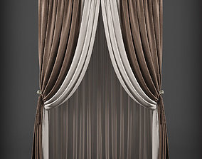 Curtain 3D model 217 realtime