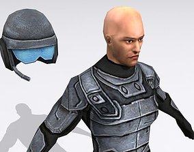Commando 3D asset