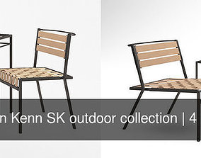 3D model Stephen Kenn SK outdoor collection