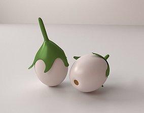 Eggplant eggplant 3D model