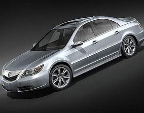 Acura RL 2009 3D model