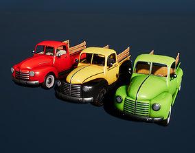 3D model Stylized pickup 02