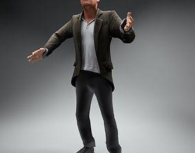 Casual Man Paul Rigged 3D model